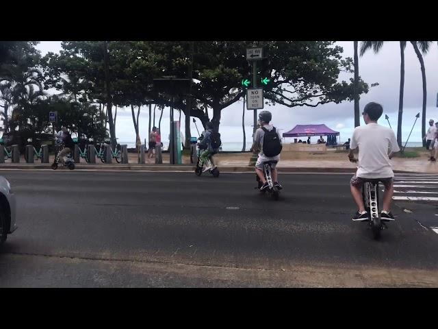 URB-E Hawaii Diamond Head Ride 11/18