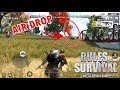 RULES OF SURVIVAL AIRDROP GAMEPLAY ANDROID & IOS 2017