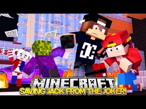 Minecraft Adventure - SAVING JACK FROM THE JOKER!!