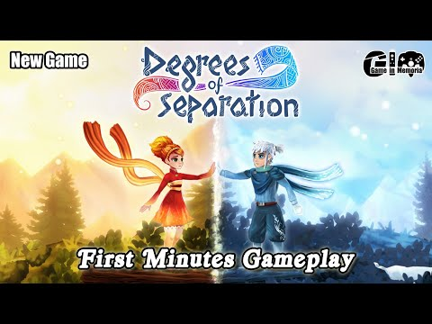 New Game : Degrees of Separation - First Minutes Gameplay [1080p 60fps] |