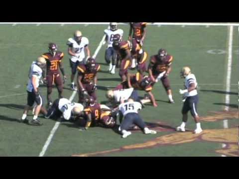 Ryan Watson - 2010 Junior Football Highlights - Good Counsel HS - Maryland