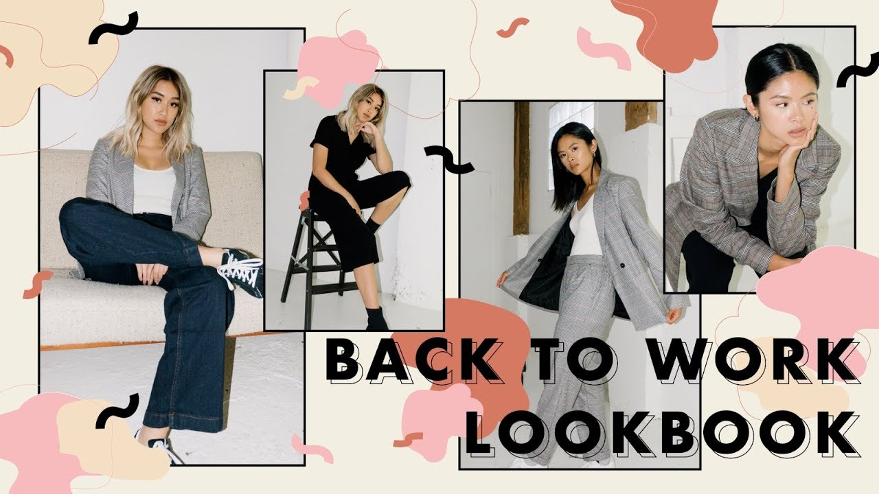 BACK TO WORK LOOKBOOK: 10 Outfits