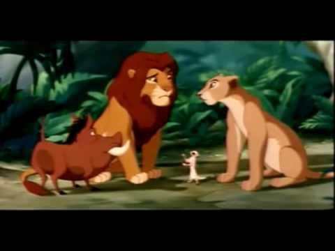 The lion king-Nala and Simba reunite(fandub) - YouTube