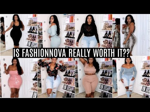 $500 FASHION NOVA HAUL | Is It Really Worth It?! |  Try On Haul- Jeans, Dress, Plus- Size, Curvy