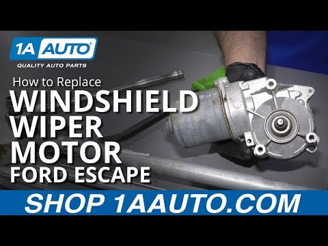 How to Replace Windshield Wiper Motor 08-12 Ford Escape