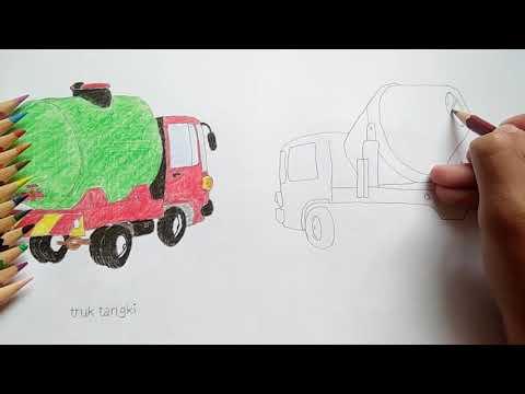 Cara Menggambar Mainan Mobil Molen