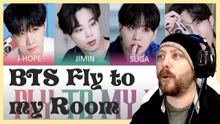 BTS - Fly To My Room (Lyric video) Reaction | BE Album track 2