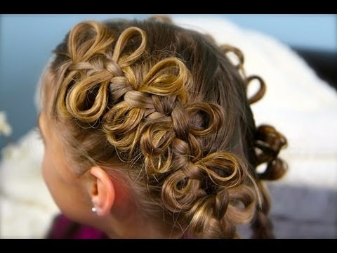 the bow braid  popular hairstyles  cute girls hairstyles