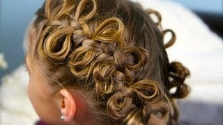 The Bow Braid | Popular Hairstyles | Cute Girls Hairstyles