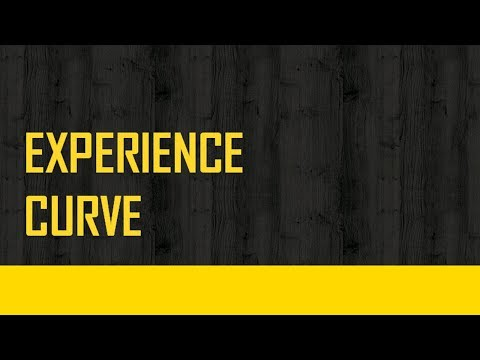Experience Curve Effect English