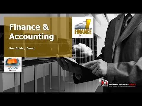 User Guide: Finance & Accounting