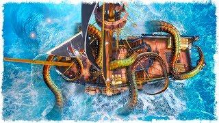 ТРИ КРАКЕНА ЗА ОДНУ СЕРИЮ? ЧТО ПРОИСХОДИТ? SEA OF THIEVES!!! ЧАСТЬ #4!
