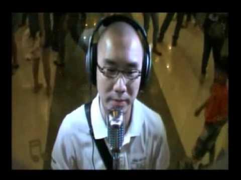 Allan di CIMB Karaoke Central Park