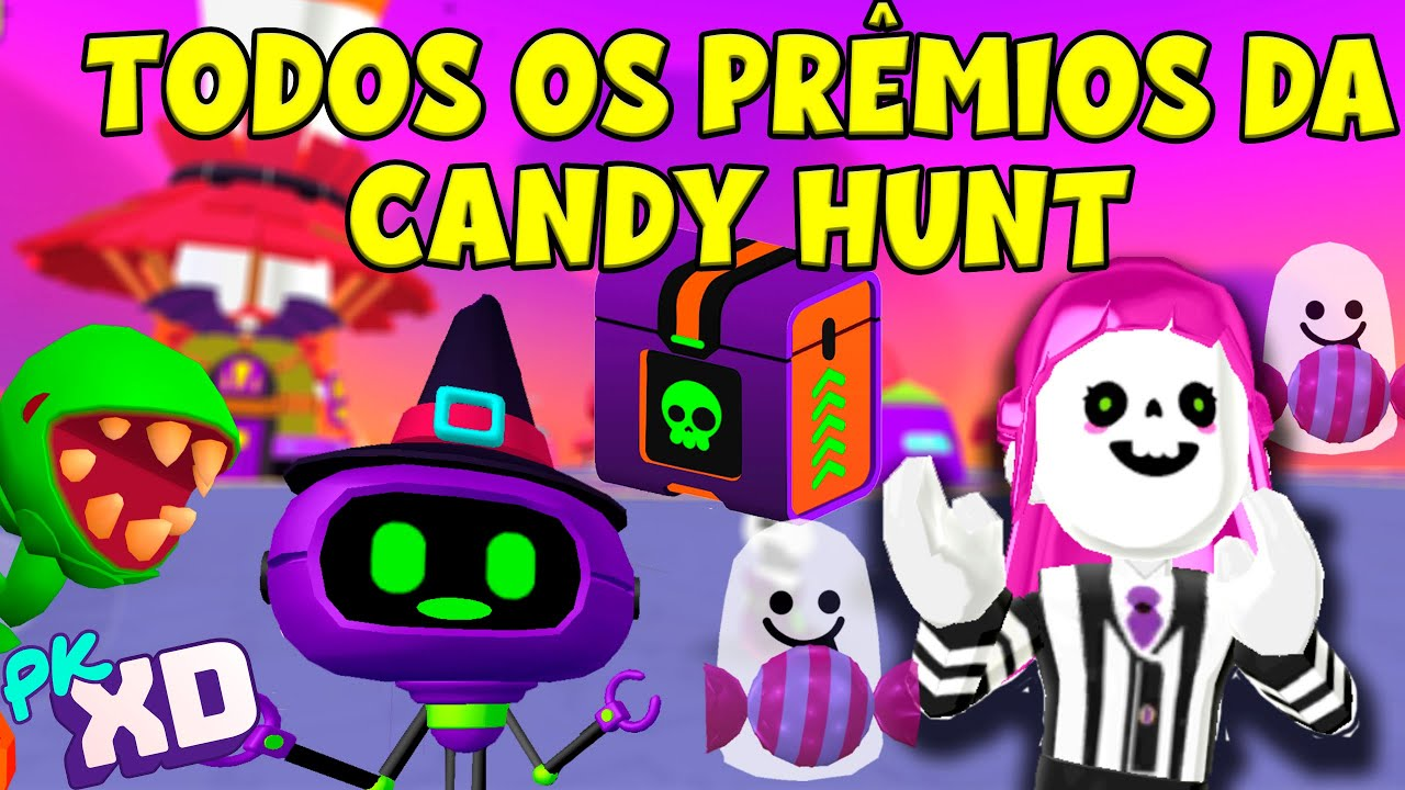 TODAS AS CAIXAS DA CANDY HUNT - PK XD