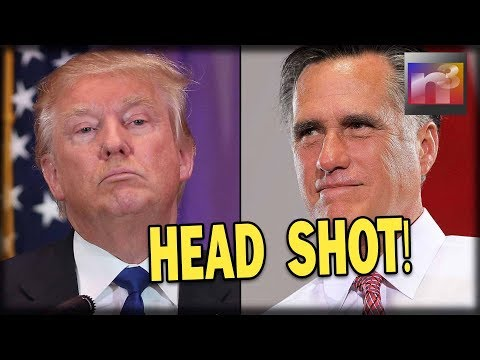 HEAD SHOT! Romney Just Attacked Trump in His FIRST Assault Against America First