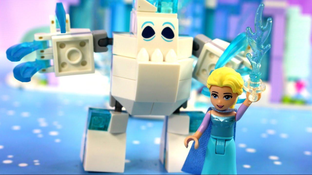 W Poszukiwaniu Elsy Frozen Kraina Lodu Klocki Lego Frozen