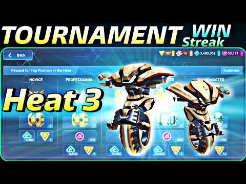 mech-arena-🔥-challenge-tournament-win-streak-|-heat-3-results