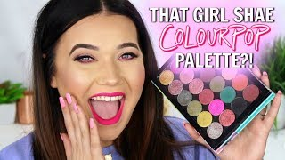 MY OWN COLOURPOP PALETTE?! Four Looks Using MY Palette!