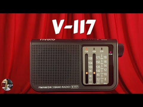 Rockin! Tivdio V-117 FM AM SW Radio Review