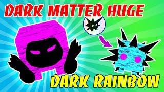 I GOT DARK MATTER DOMINUS HUGE AND UPGRADE PET TO RAINBOW DARK IN PET SIMULATOR!! Roblox