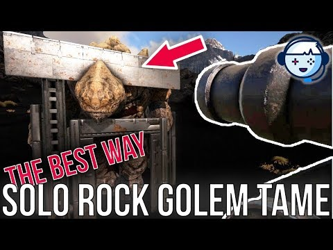 The BEST Way to Solo Tame a Rock Elemental | Ark Tips, Tricks and How-Tos | Ark: Survival Evolved