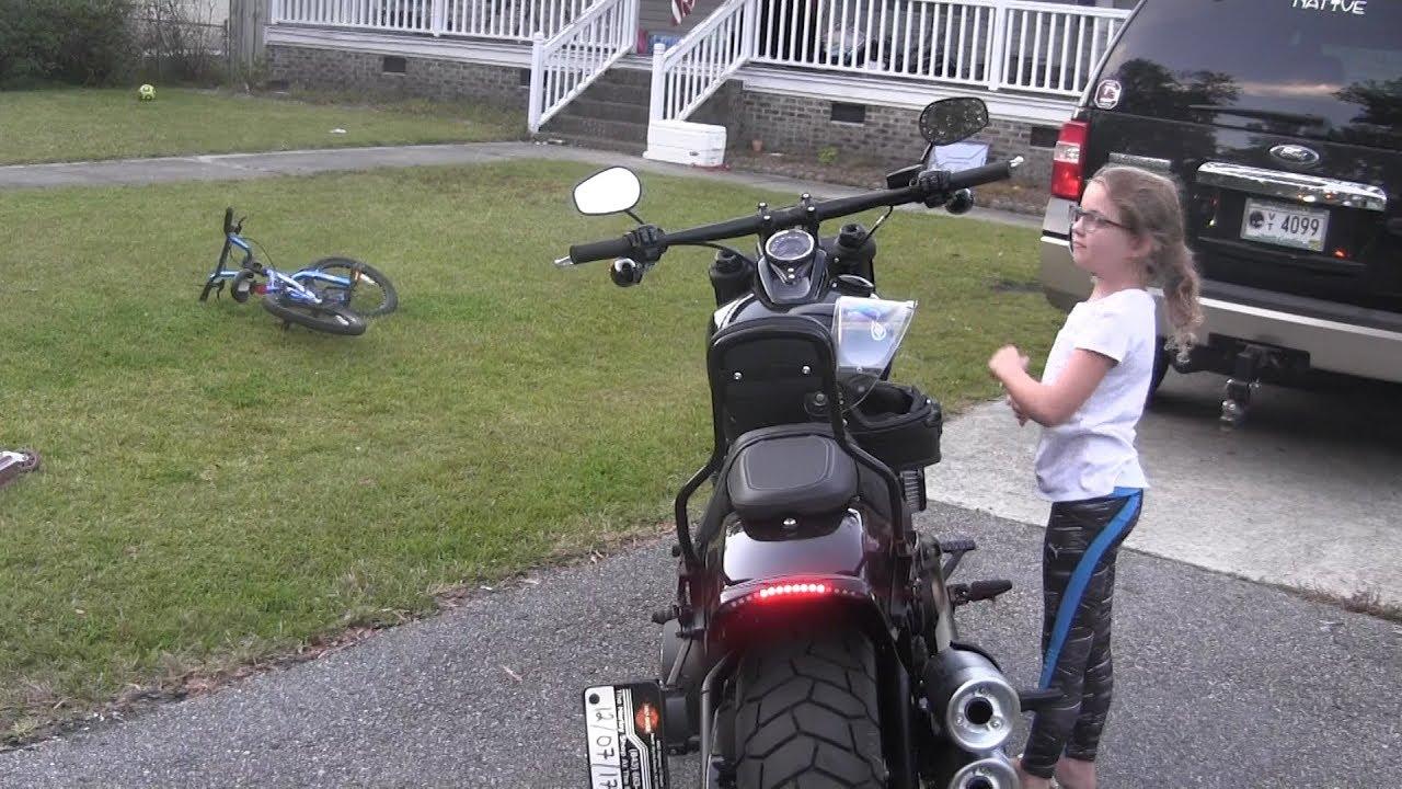 Custom Diy 10 2018 Harley Fat Bob Led Tail Light Brake