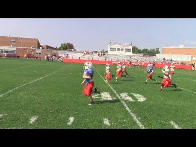Beekmantown - AuSable Valley Youth Football  9-17-17
