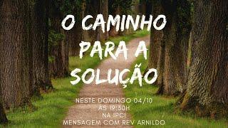 IP Central de Itapeva - Culto de Domingo à Noite  - 04/10/2020
