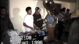 Banda Renacimiento J R de Huecorio en 1996 Pt.1