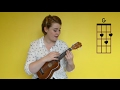 How To Play Lana Del Rey Young And Beautiful Beginners Ukulele Cover And Tutorial mp3