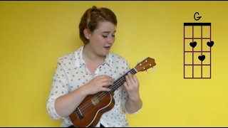 How to Play - Lana Del Rey - Young and Beautiful - Beginners Ukulele Cover and Tutorial