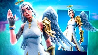 I BOUGHT THE NEW SKIN ANGEL AND GAVE A LOT OF BULLET! -Fortnite, the