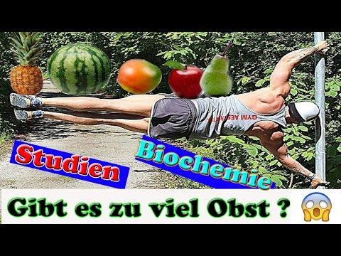 Wie viel ObstFrüchte ist zu viel?Fruktoseintoleranz  Fruktosetabelle Ist der Mensch Frutarier?