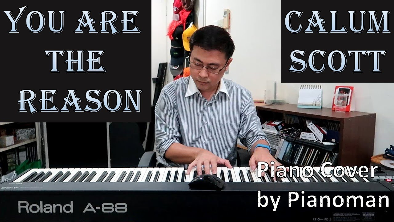 You are the Reason - Calum Scott   Piano Cover with Strings for WEDDINGS    FREE PIANO SHEET
