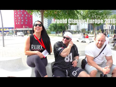 Arnold Classic Europe 2016 - Day 1 - Poseland