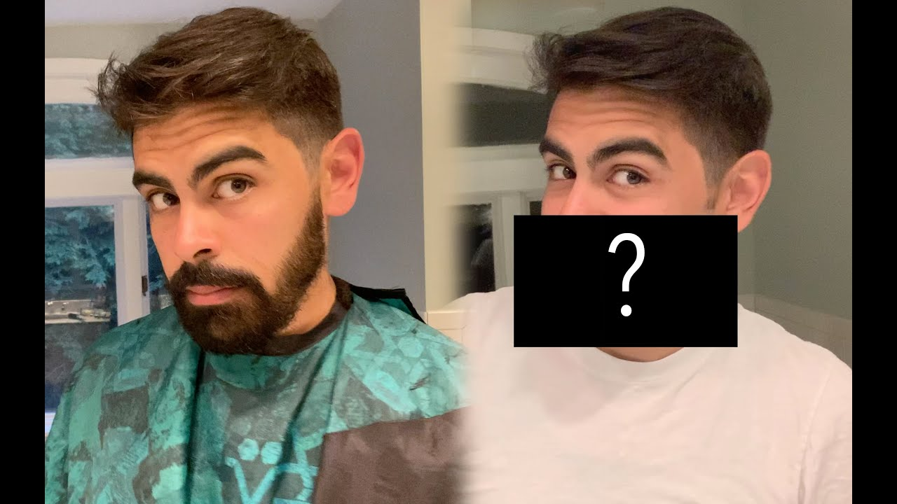 Beard Growth TIME LAPSE & First Clean Shave in 8 Years
