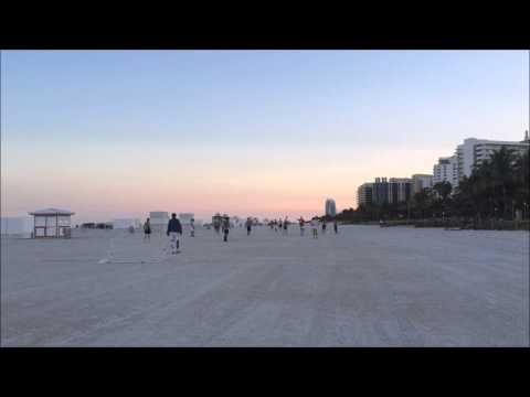 Sunset & Soccer on South Beach -  Miami Beach Florida