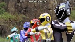 Go onger vs Gekiranger Henshin & Roll Call