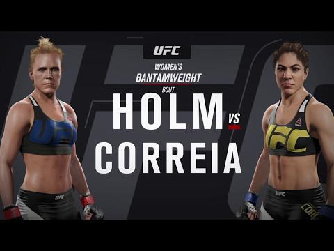 UFC Fight Night 06/17/2017 Predictions - Holly Holm VS Bethe Correia