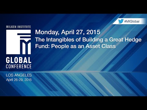 The Intangibles of Building a Great Hedge Fund: People as an