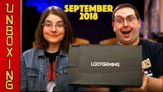 UNBOXING! Loot Gaming September 2018 - METAL - Spider-Man, Sonic the Hedgehog