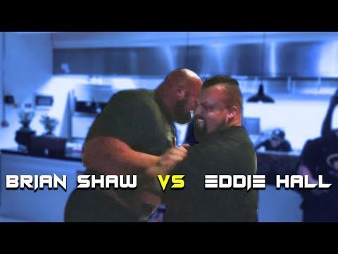 FIGHTING EDDIE HALL | BURJ KHALIFA | BRIAN SHAW