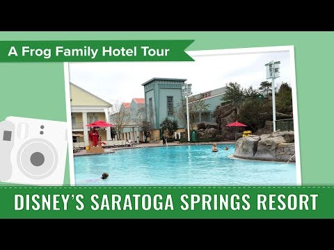 Disney's Saratoga Springs Resort & Spa, an Undercover Tourist Photo Album