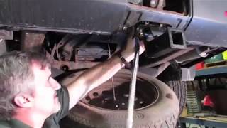 Tips For Installing the Bolt-On Trailer Hitch Receiver On LR3, LR4 or Range Rover Sport video screen shot