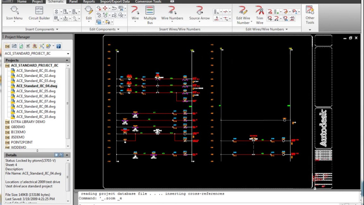 autocad electrical electrical schematic symbol libraries [ 1280 x 720 Pixel ]