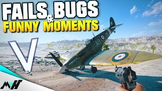 Battlefield 5 FAILS BUGS & Funny Moments