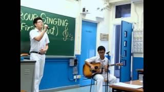 cneccc的2013-2014 安柱中學 Singing Contest Group Singing入圍精華表演相片