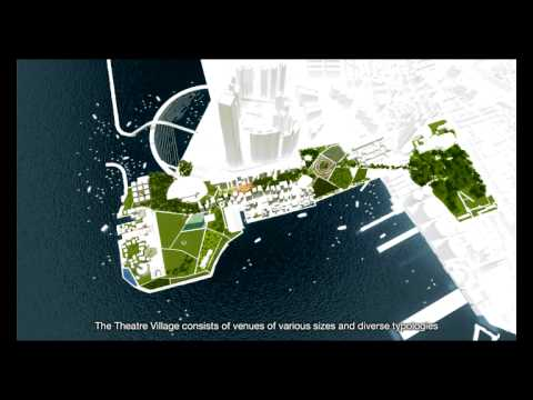 OMA's plan for Hong Kong West Kowloon Cultural District (Dir