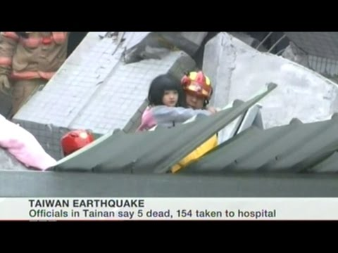 6.4 Earthquake Hit Taiwan Killing At Least 5! Hundreds More Injured!
