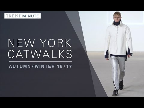 Trend Minute: A/W 16/17 New York Catwalks